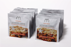 Individually wrapped lactation cookies from milkmakers increase breast milk supply for breastfeeding moms