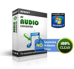 Convert between MP3, WAV, WMA, AAC, OGG, MP4 formats