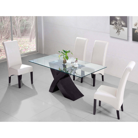 Styling Your Home With Modern Dining Table And Chairs Furnitureinfashion Launches It Xanti Wenge Set Luxurious Leather