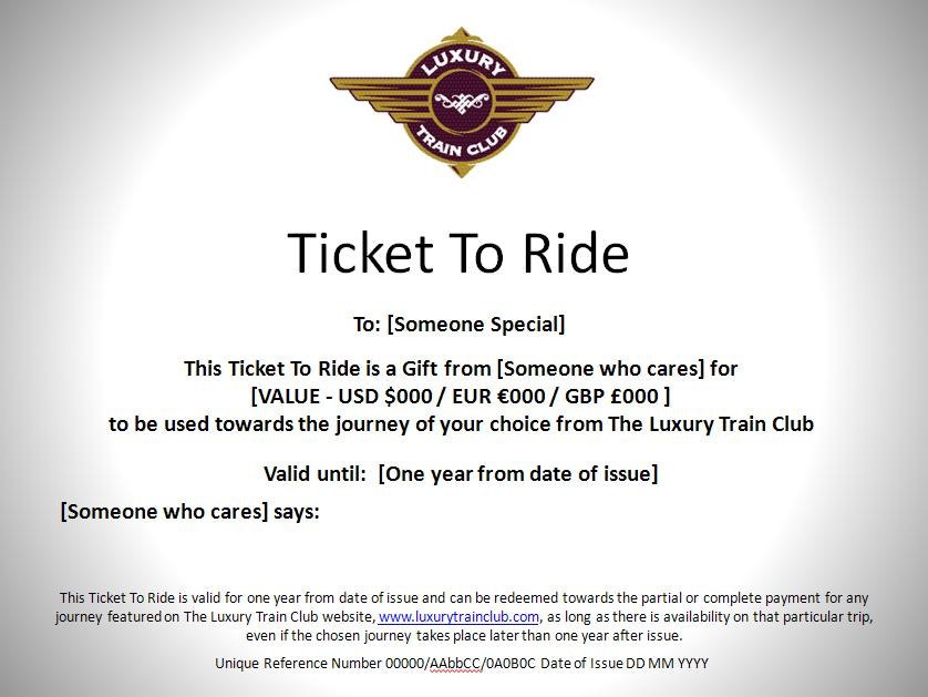 Offer From The Luxury Train Club And Noble Isle, Plus Festive Season ...