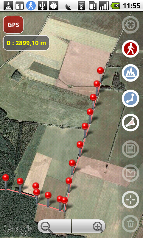 Google Solar Map >> Planimeter: A New Practical App For Land Measure With Real ...