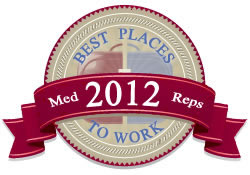 MedReps.com's Best Places to Work in Healthcare Sales