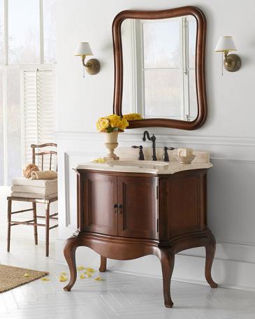 Homethangs Com Introduces A Tip Sheet On Wood Bathroom Vanities Design Options