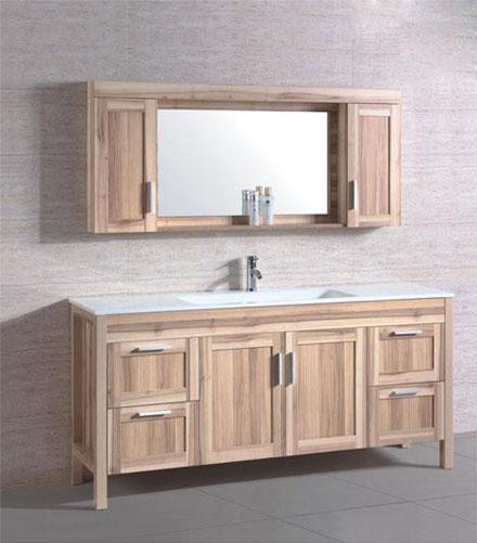 homethangs introduces a tip sheet on wood bathroom vanities Furniture Style Bathroom Vanity