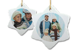 MailPix' top seller: Snowflake ornaments