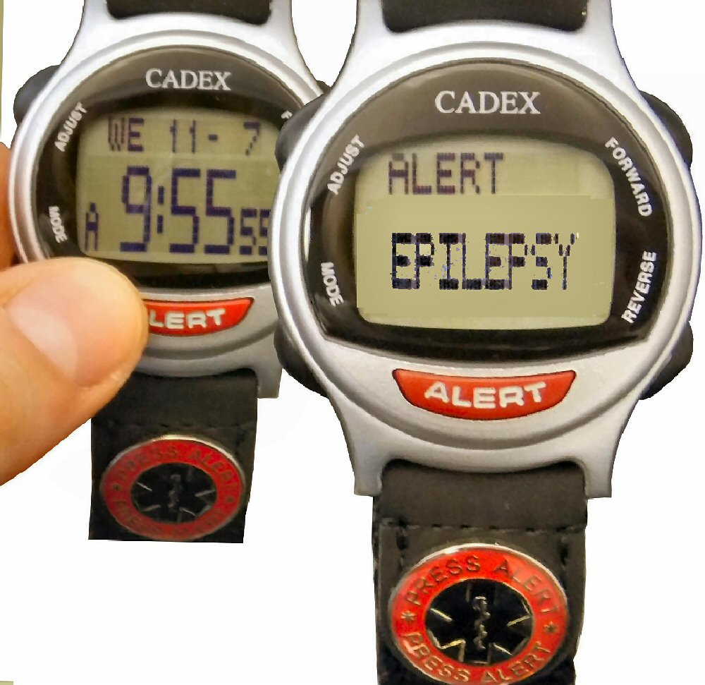 Epilepsy Emergency Id Braceletepilepsy Alert Bracelet Disguised As A Watch