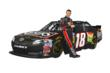 Matt Kenseth with Reser's No 18 Toyota