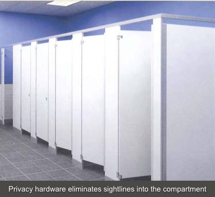 Commercial Restroom Trend US Customers Desire More Privacy In - Public bathroom partitions