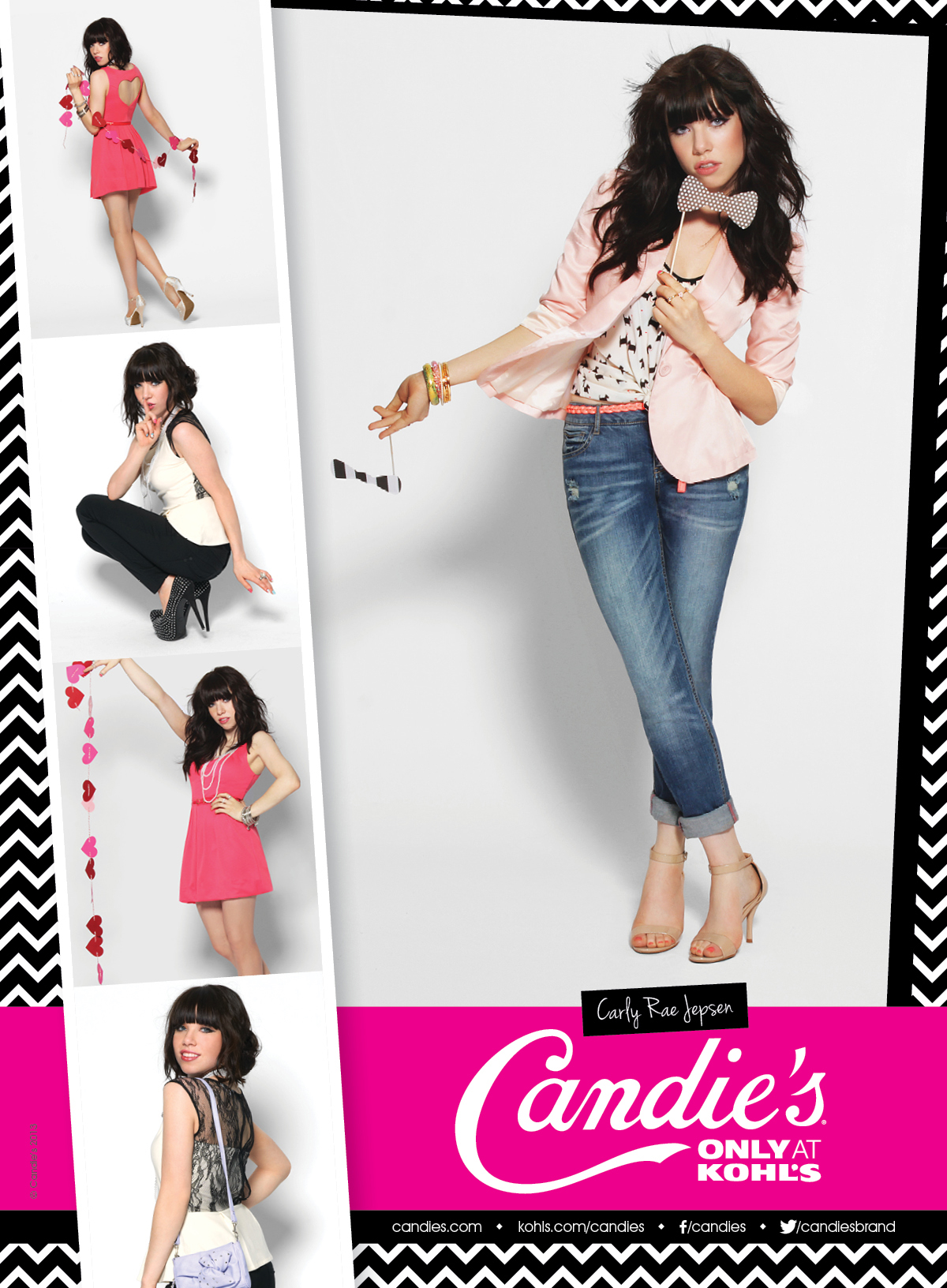 f48d292b6 Carly Rae Jepsen for Candie's Ad ImageCarly Rae Jepsen, Candies, Candie's,  Kohl's, photobooth, marketing campaign, Spring 2013 ...