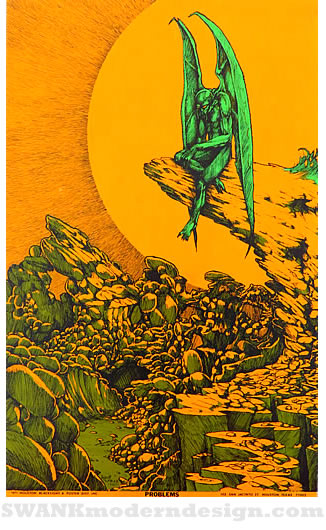 Palm Springs Exhibition of Vintage Blacklight Posters from ...