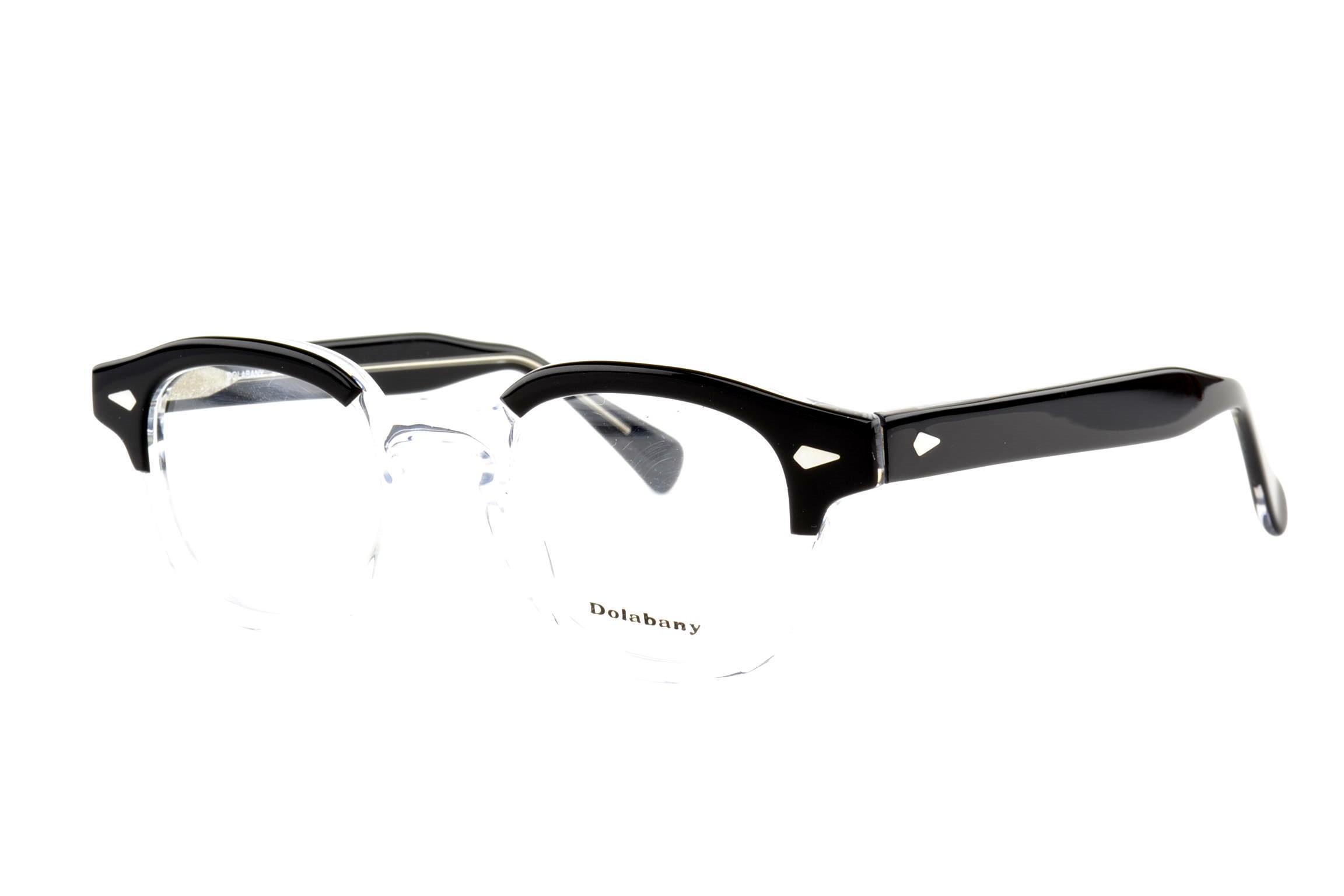 231a5bdee82 Dolabany Eyewear Collection - The ArnoldDolabany Arnold Black Crystal Best  Image Optical