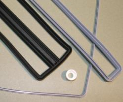 Low Durometer (Very Soft) Molded Liquid Silicone Rubber Gaskets from Stockwell Elastomerics