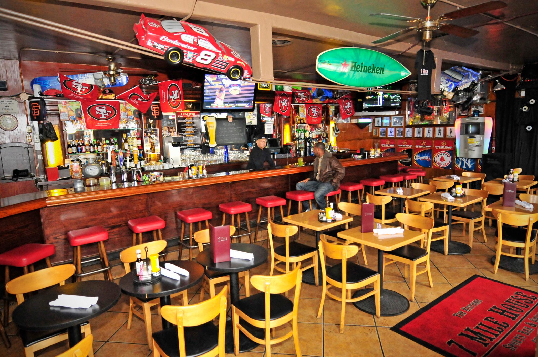 Historic San Francisco Bay Area Sports Bar '7 Mile House ...
