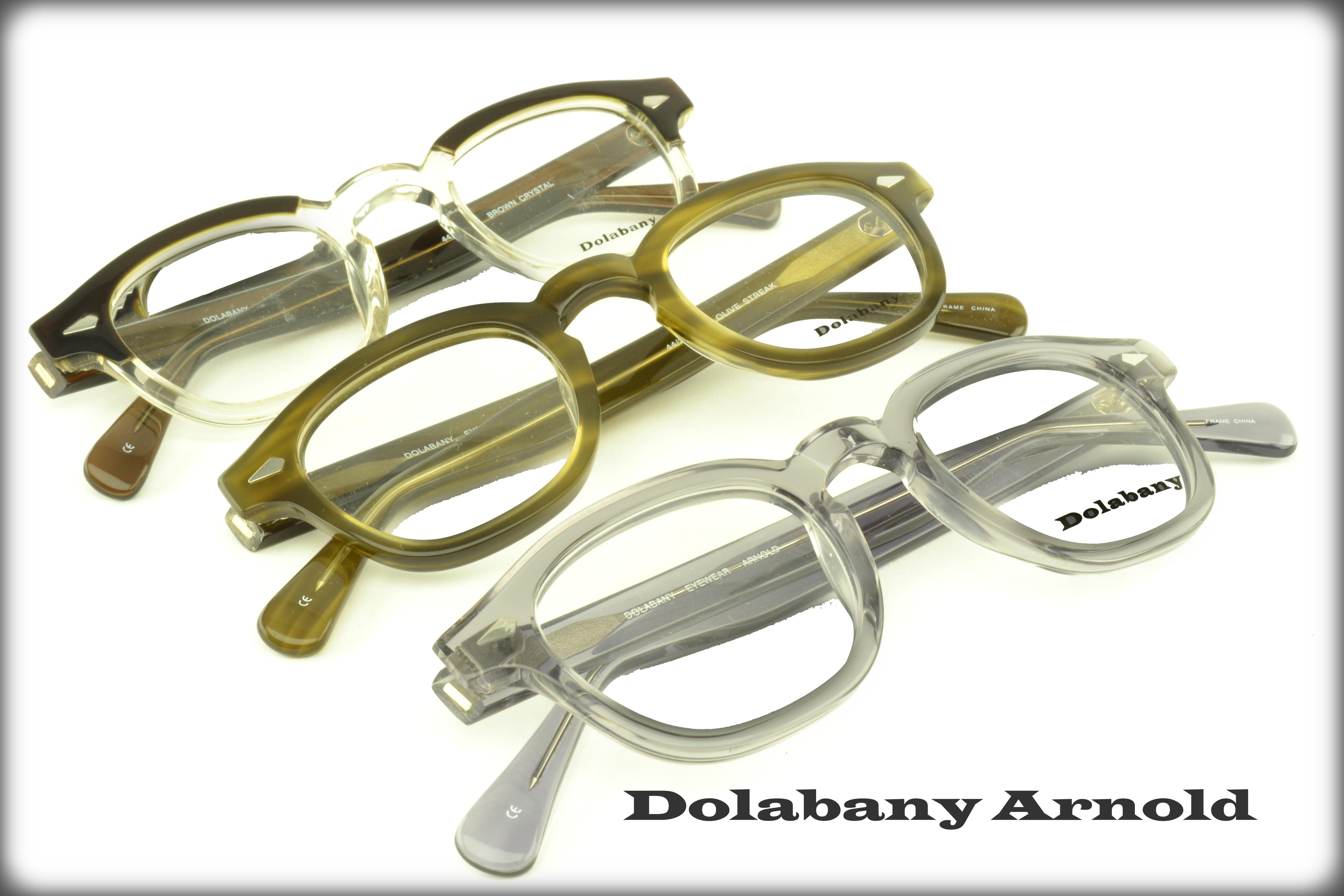 9e0f8a9955 Dolabany Eyewear Collection - The ArnoldDolabany Arnold Best Image Optical