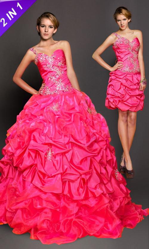 Elegant Prom Formal 2 in 1 Dresses 2013 at Dress.vponsale.co.uk