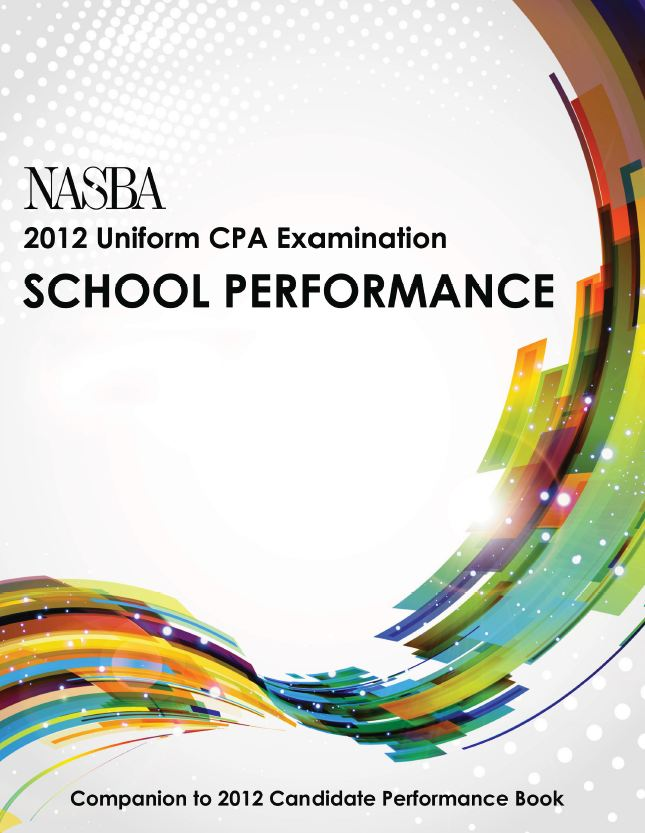 Book Cover School Uniforms : Nasba releases cpa examination statistics