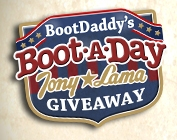 bootdaddy boot giveaway bootdaddy s boot a day tony lama giveaway 2588