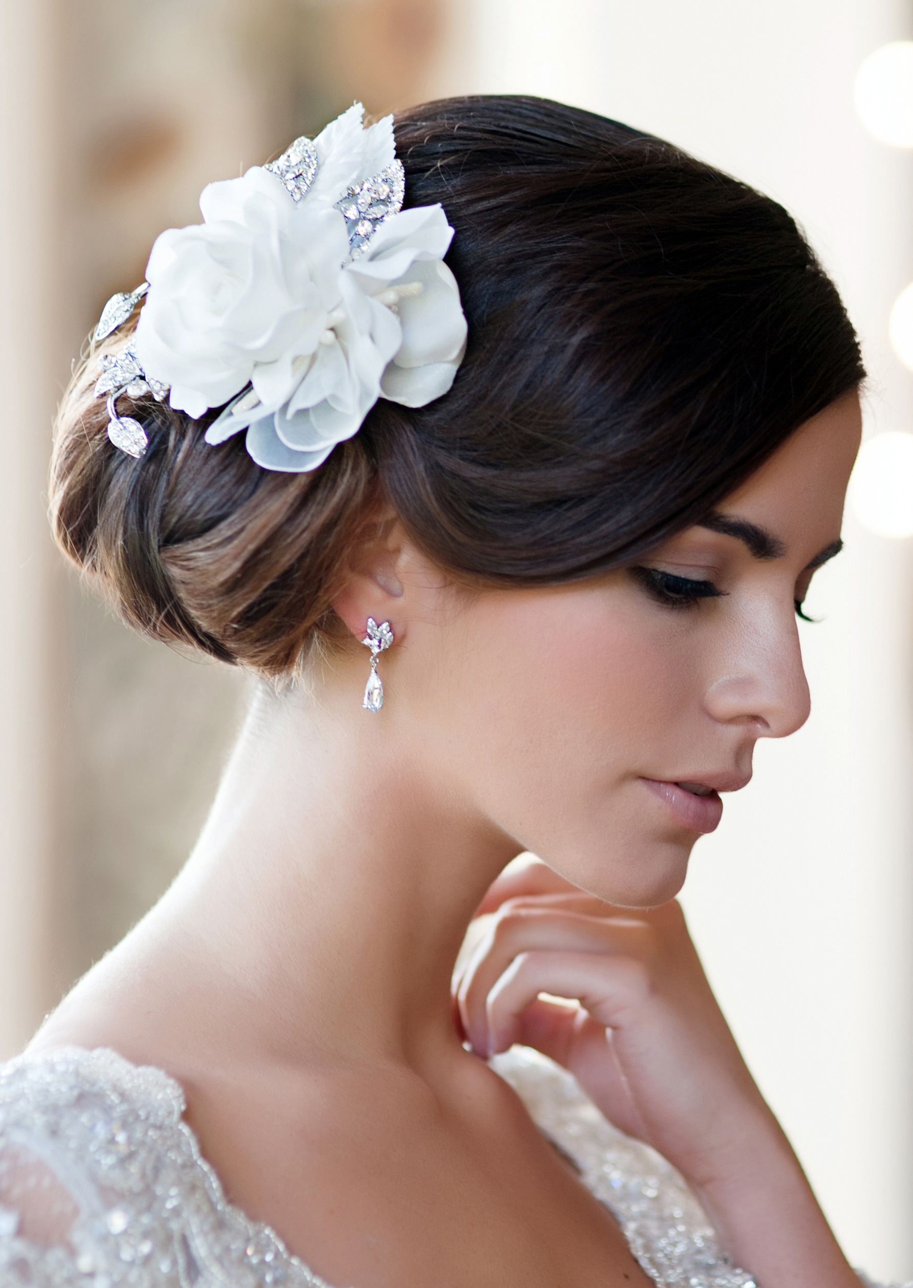 hair wedding styles with flowers glitzy secrets launches a new collection of vintage 9028