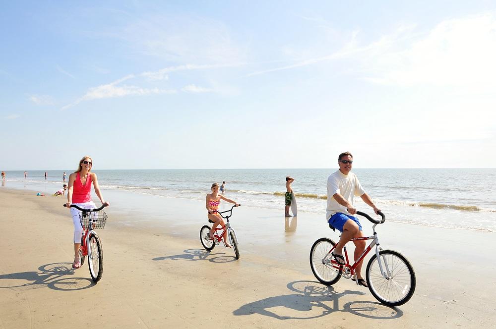 Bike Ride On The Beach Best Beaches In World