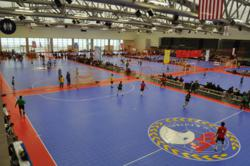 SnapSports Athletic Surfacing at the US Futsal Northwest Regional Championships