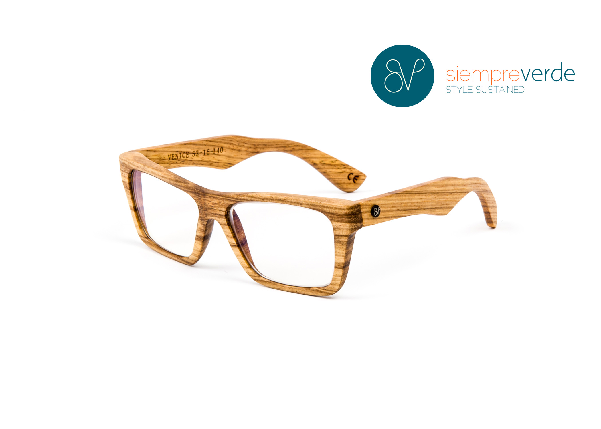 Siempre Verde Launches the Madera Collection: Wood Eyewear with Style