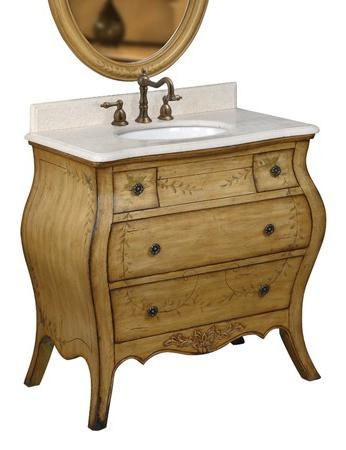 Homethangs Com Introduces A Tip Sheet On French Country Bathroom Vanities How To Pick The One