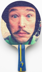 Design custom table tennis rackets for $29 at PaddleYou.com