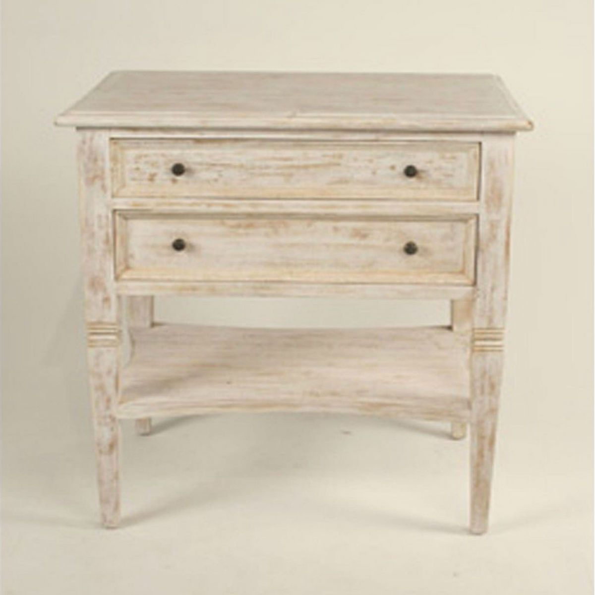 Oxford 2 Drawer Side Table ...