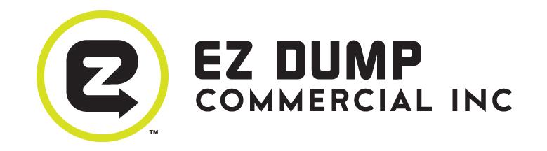 EZ Dump Commercial LogoNew Logo By V12 Studios