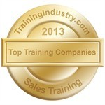 The trainingindustry.com seal designates Sandler Training as a  Top 20 Sales Training Firms for 2013