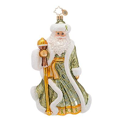 celebrate martha is the 2013 lymphoma awareness charity ornament and is new to the collection of radko charity ornaments