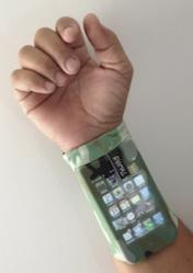 Phubby The Wrist Cell Phone Holder