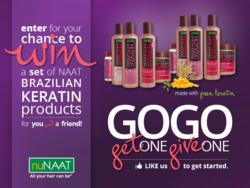 nuNAAT GOGO (Get One, Give One) Giveaway