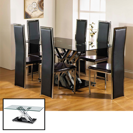 buy inexpensive furniture online buy cheap furniture by availing deals of 11868 | Excelsior DINING BLK CLR