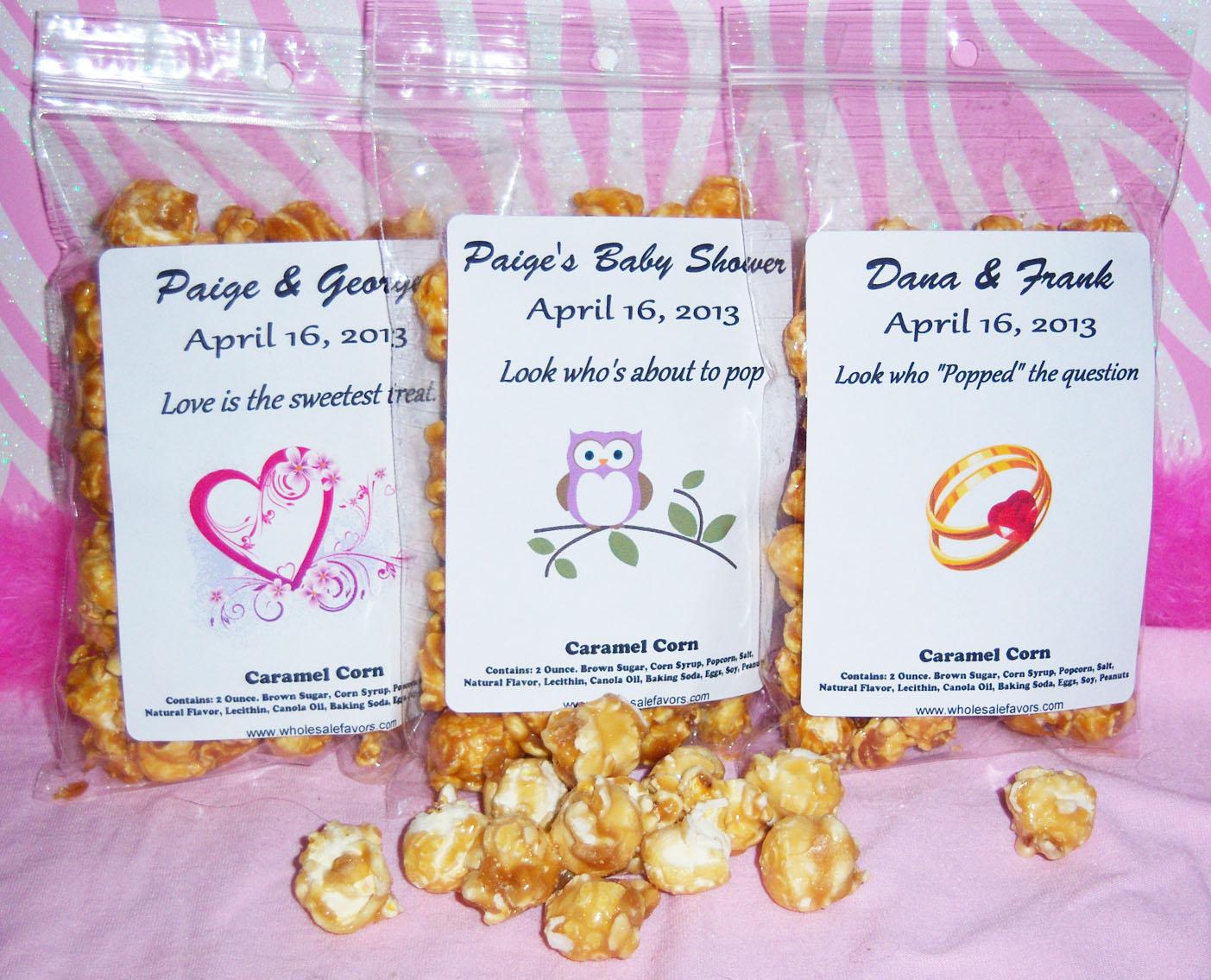 Bridalshowerfavors Announces New Edible Wedding Favors