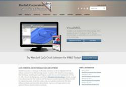 MecSoft's New Website to promote CAD/CAM products