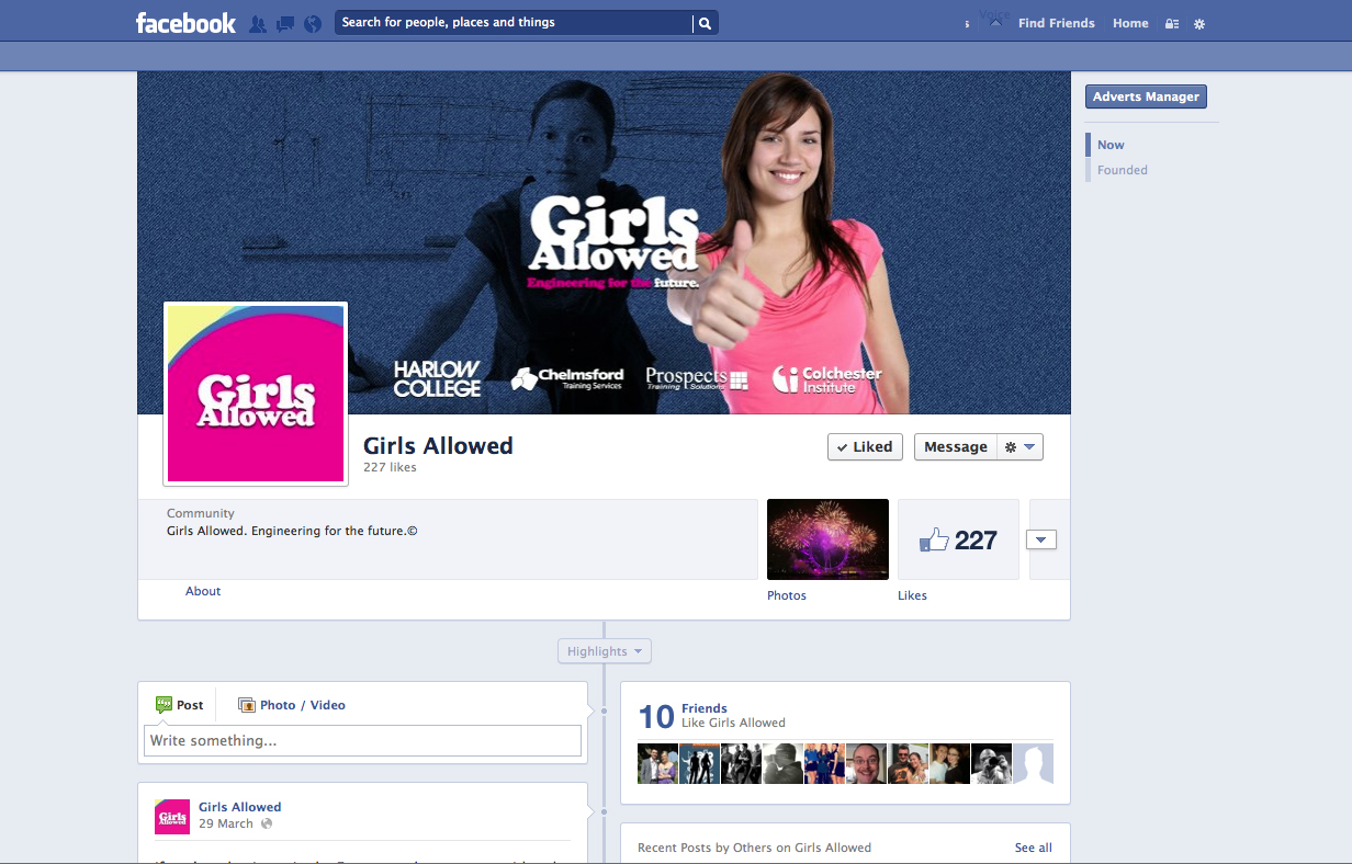 Successful Girls Allowed Campaign To Attract New Female Engineering Apprentices Goes Nationwide