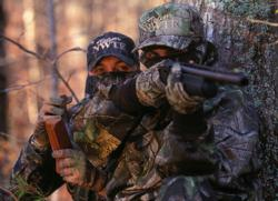 Learning to hunt turkey in Hunters Safety training