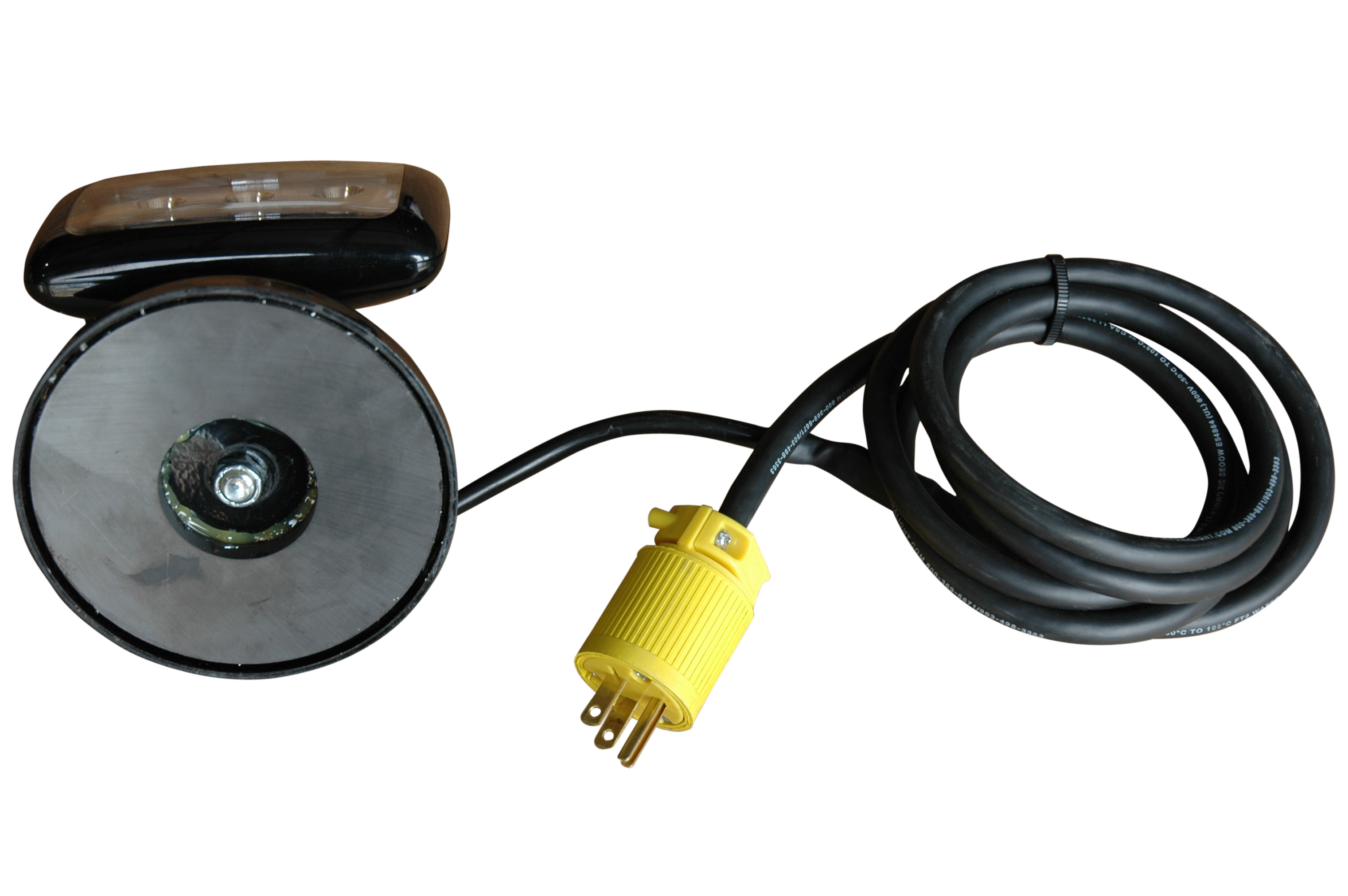 Larson Electronics Magnalight Adds Magnetic Mount Led Work Lights Wiring Mounted 6 Watt Light With 100lb Basemagnetic Base
