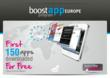 StartMeApp Mobile Ad Network Launches 'Boost App Europe' for Branded and Consumer Mobile Apps