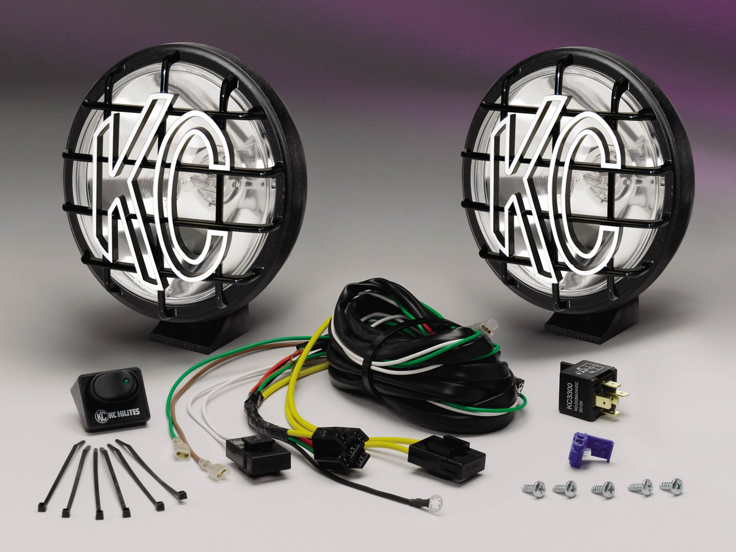 Now Available At Summit Racing Equipment New Off Road Products From Kc Hilites Wiring Harness Apollo Pro Series 6 Inch Light Kit