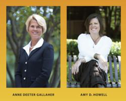 Women in High Gear authors Anne Deeter Gallaher and Amy D. Howell