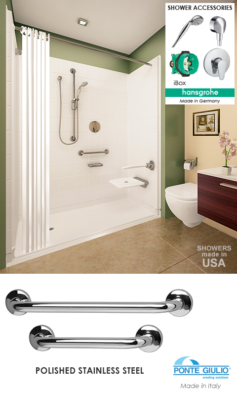 A Leading Wheelchair Accessible Handicap Shower Provider