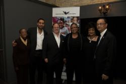 Diamond Nexus CEO, Gary LaCourt with Edward Deshazer and other members of the GHTCA Administration