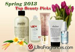 Ultra Fragrances Top Beauty Products for Spring 2013