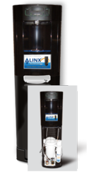 Bottleless water Coolers, water filters, water treatment, linx, pionetics, water conservation, green home, drinking water systems, home water treatment, water coolers