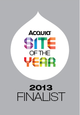 R2i Acquia Partner Site of the Year Finalist