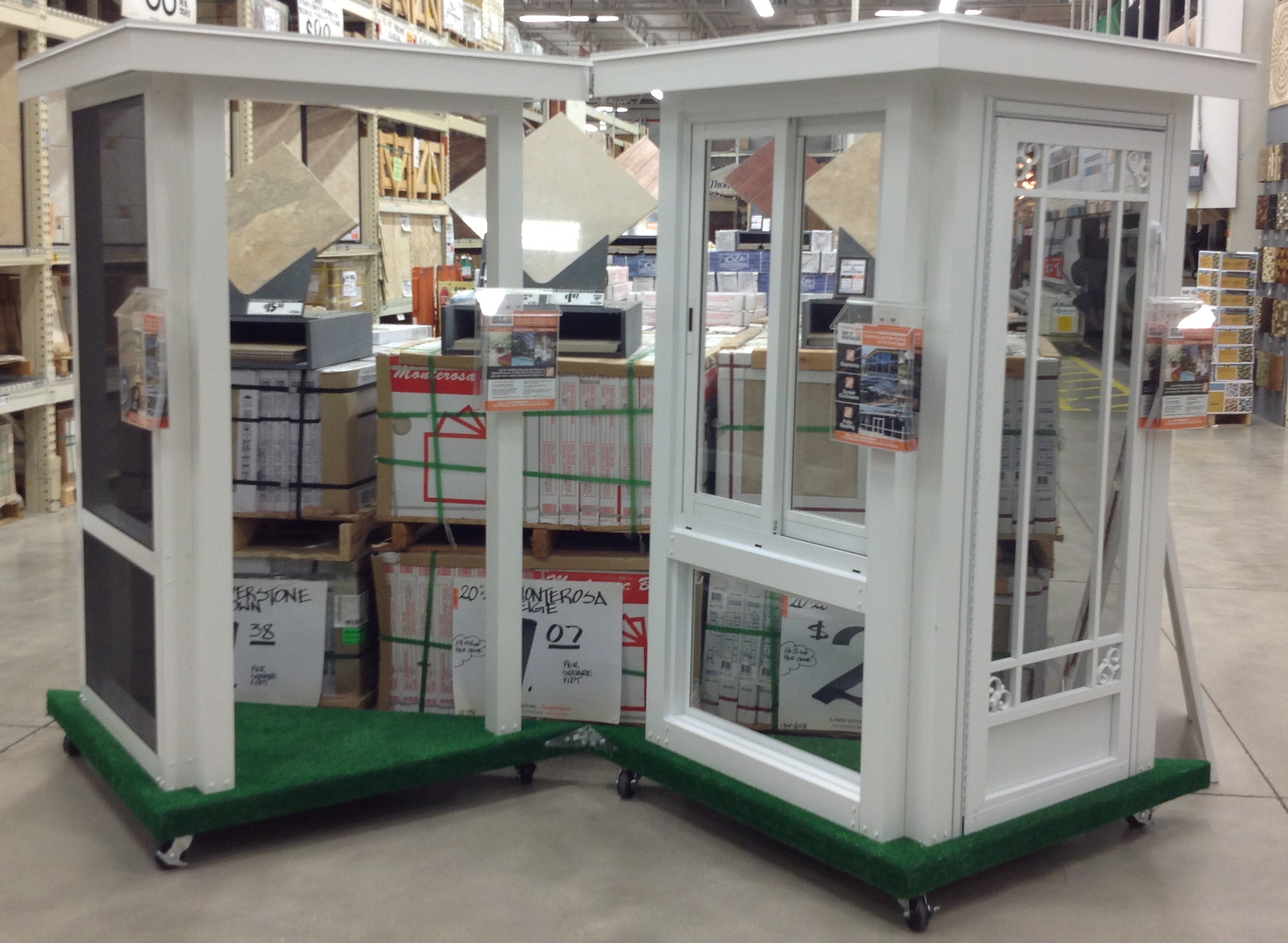 Venetian Builders Inc Uses Nearby Home Depot Retail