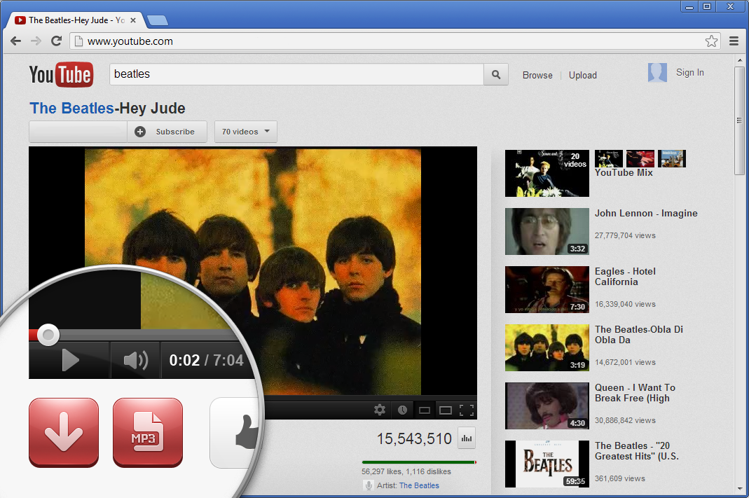 is youtube mp3 converter illegal