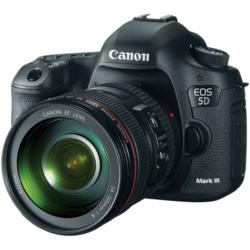 Canon EOS 5D Mark III Digital Camera Kit with Canon 24-105mm f/4L IS USM AF Lens: www.camerapro.com.au